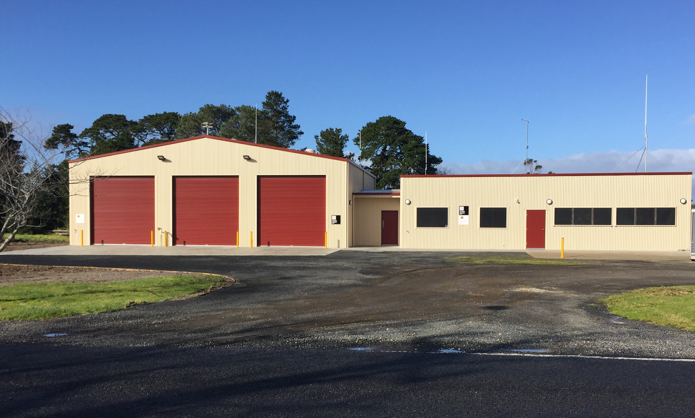 New CFA building for Welshpool