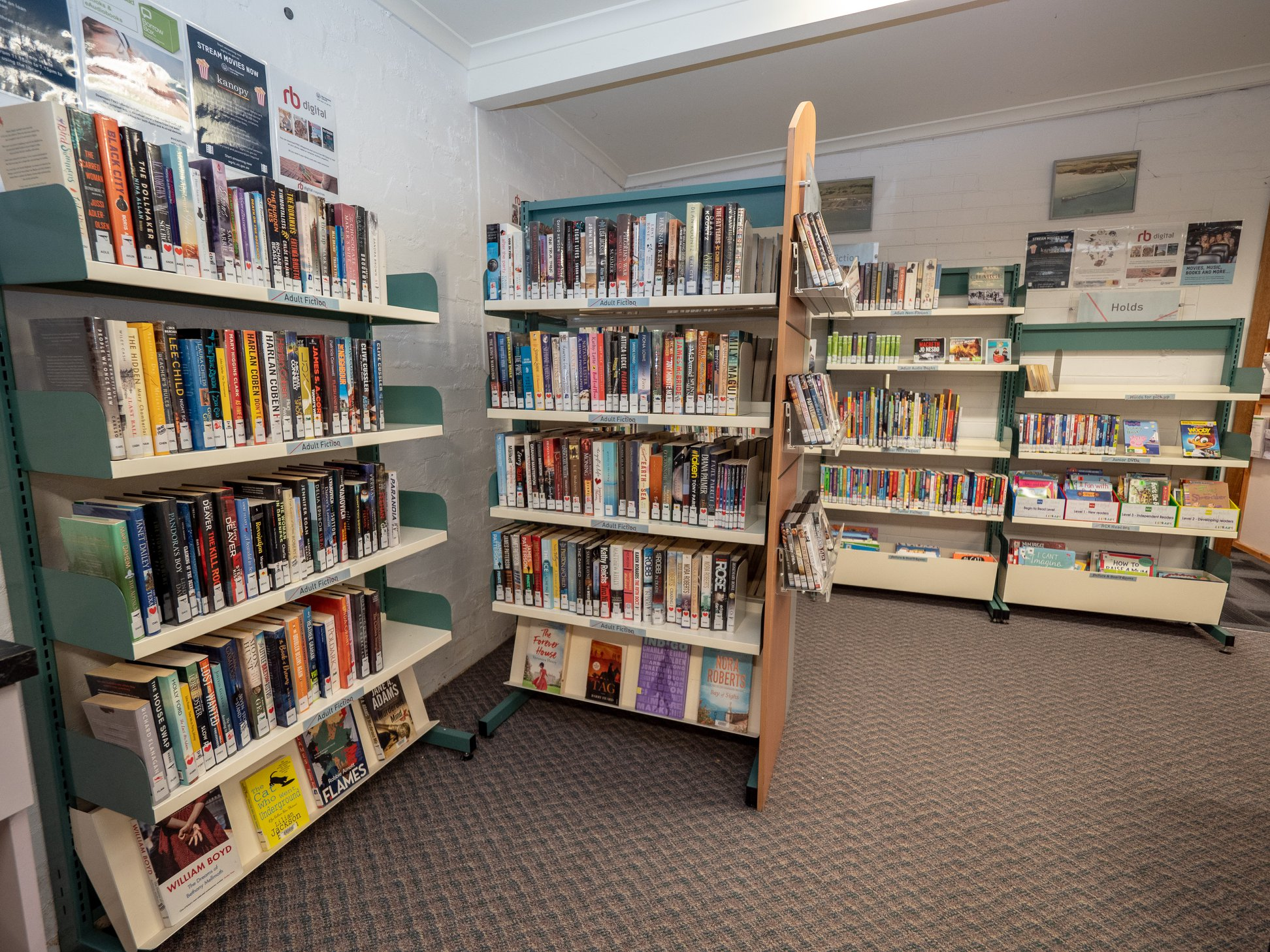 The Welshpool Community Library now open 5 days a week at the Rural Transaction Centre