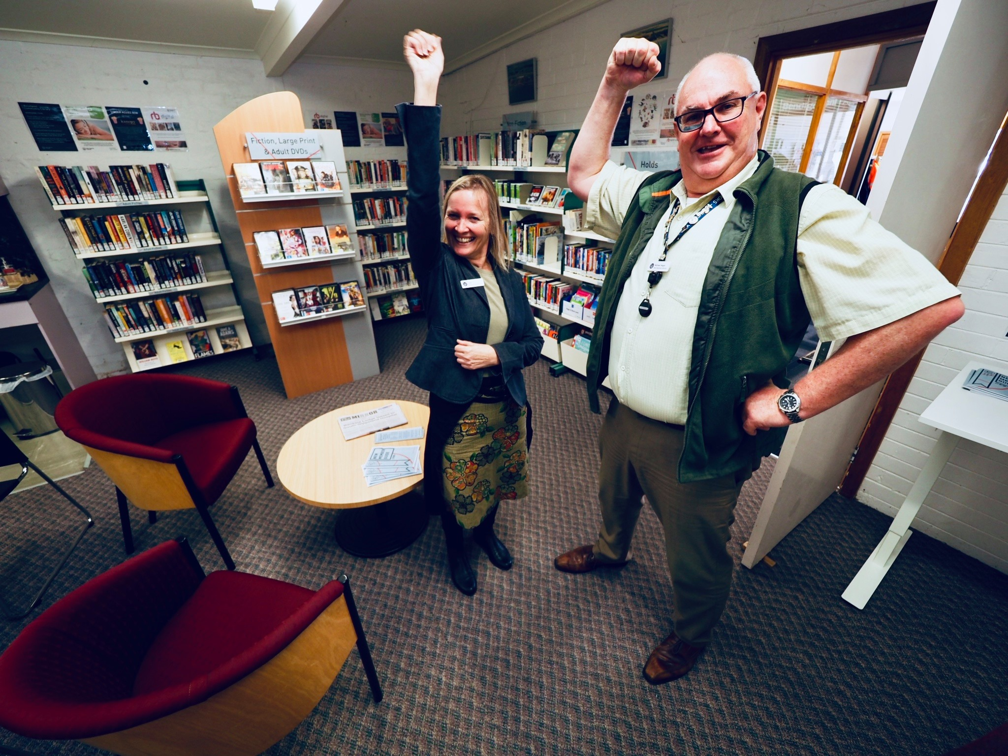 The West Gippsland Libraries opens the Welshpool Community Library at the Rural Transaction Centre