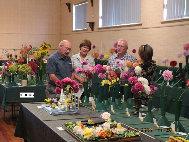 Autumn Flower Show - March 2018