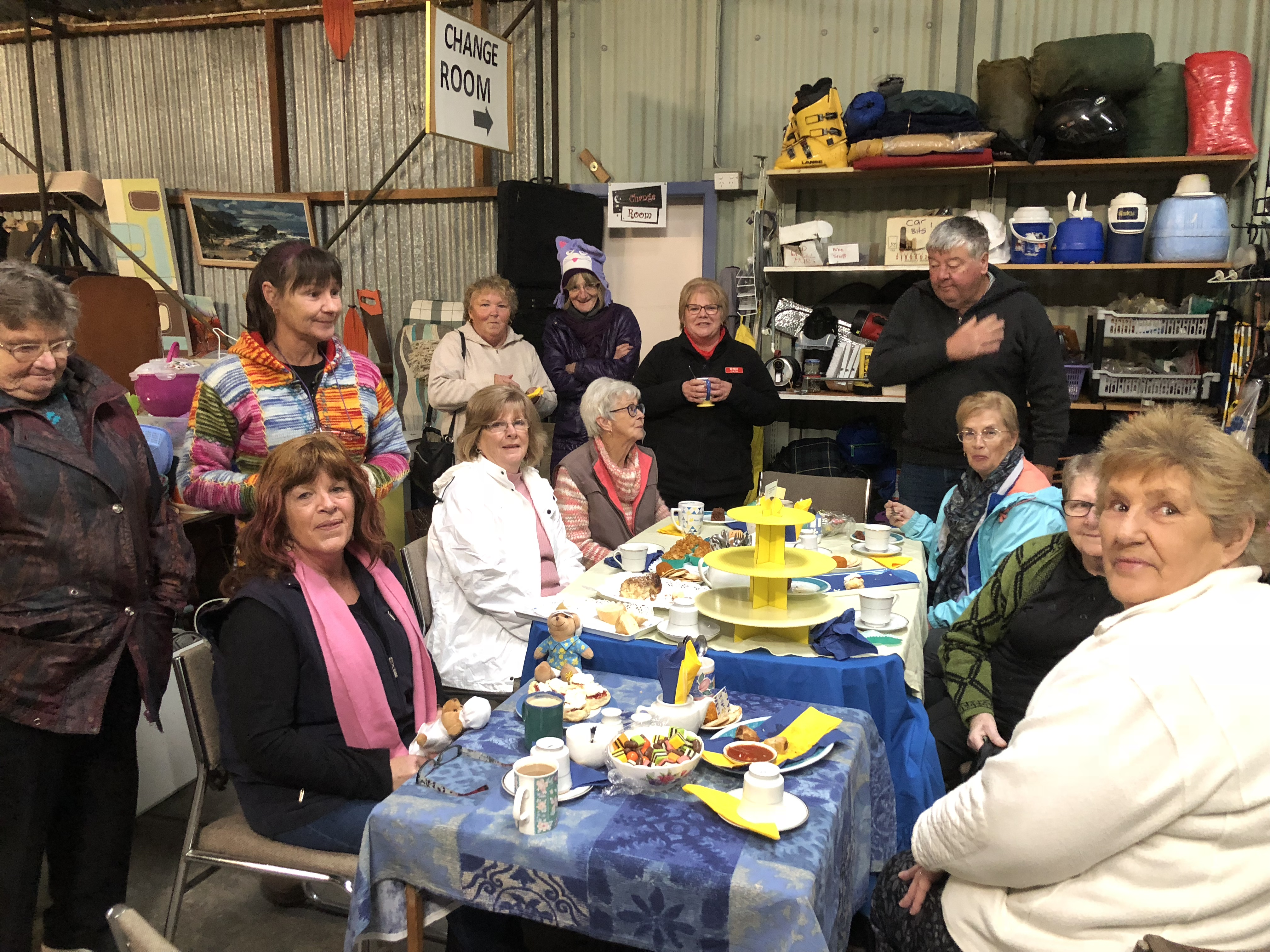 2019 Biggest Morning Tea held at the Welshpool Op Shop