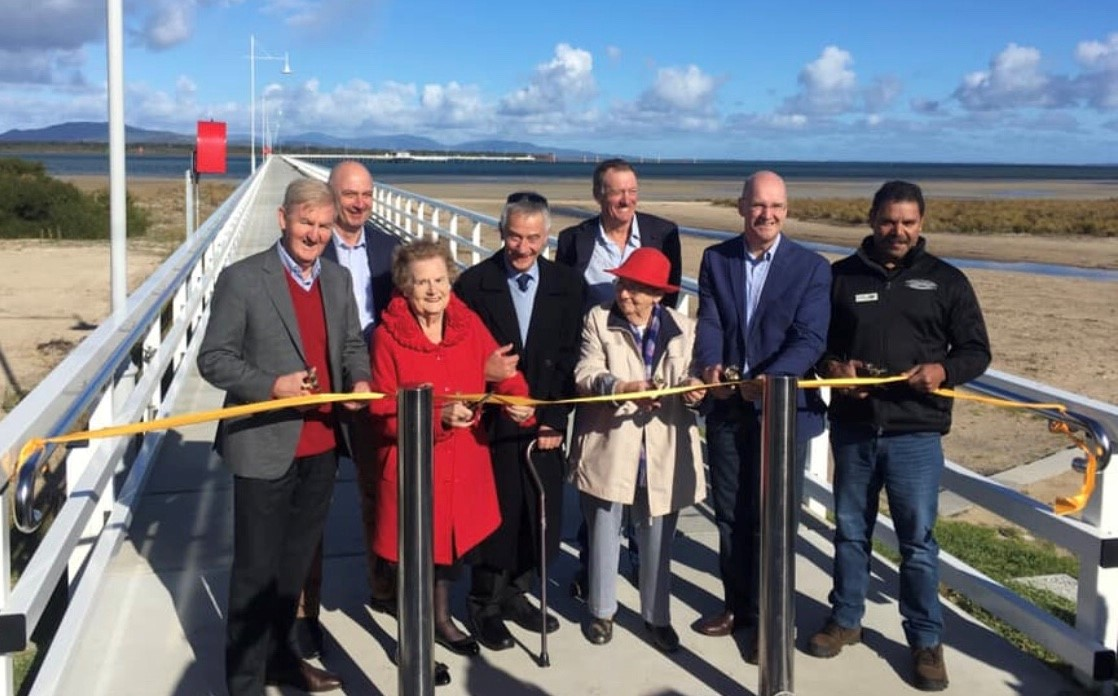 The Official Opening of the Long Jetty