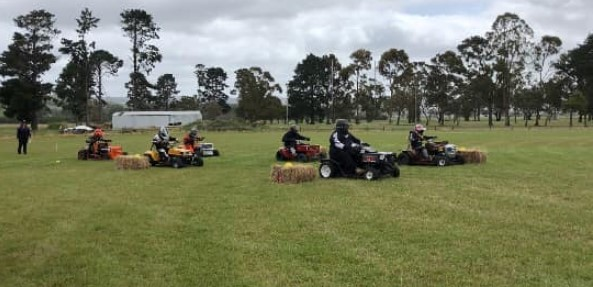 Welshpool's 4th Annual Lawn Mower Race Day