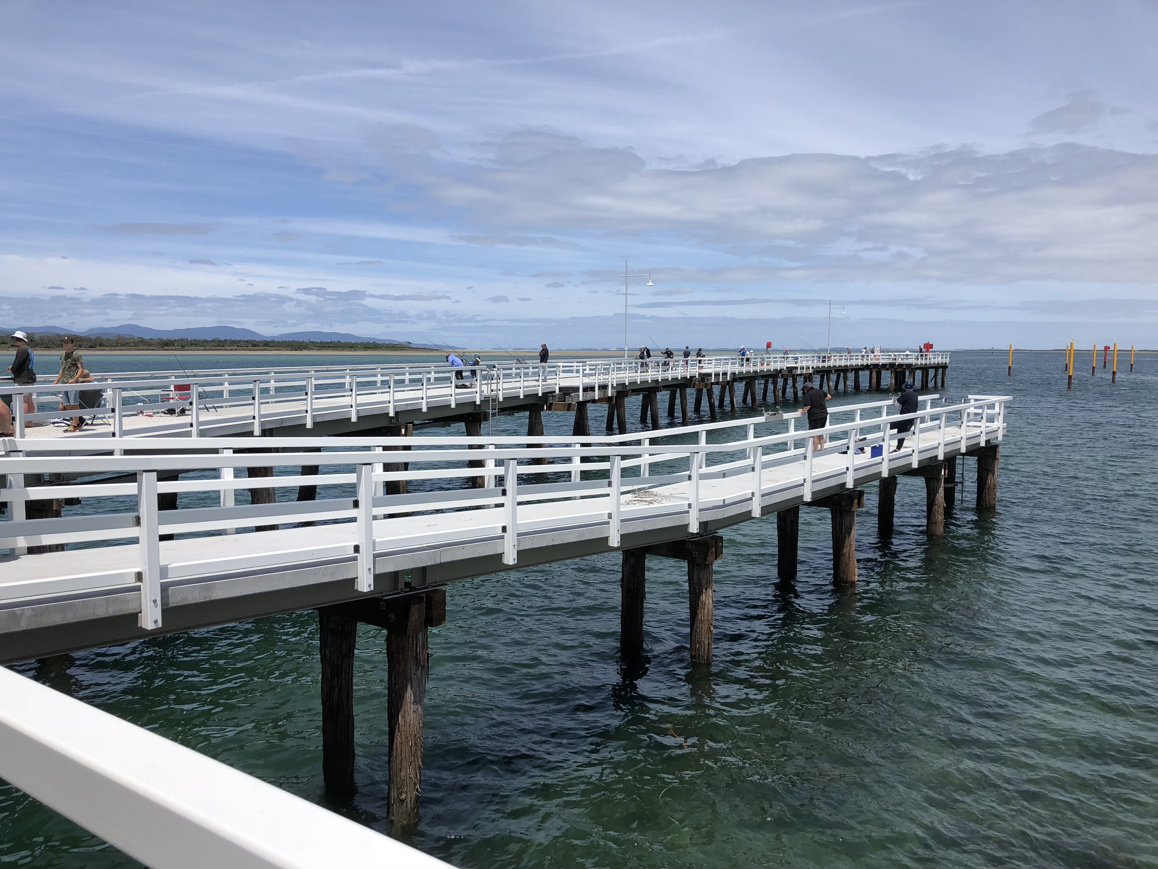 Many visitors have flocked to the newly refurbished Long Jetty