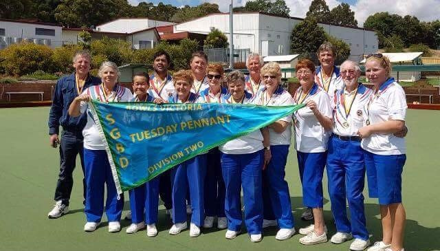 On 21st February Port Welshpool Bowls Club won their Division 2 pennant against Tarwin Lower.