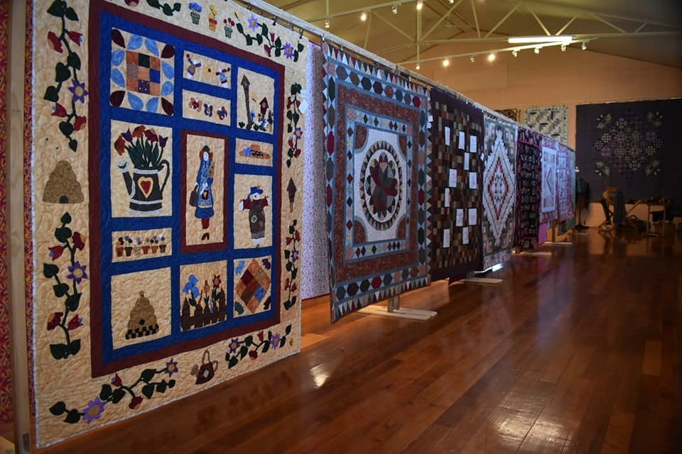 Welshpool Quilt Exhibition  October 2018