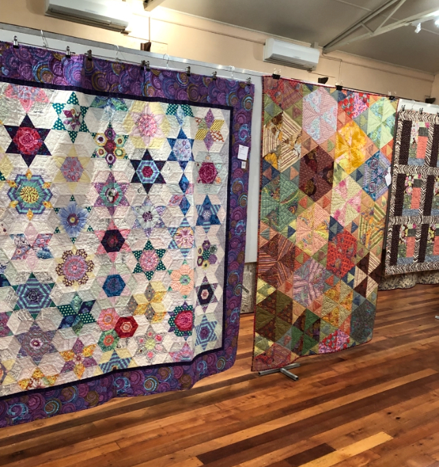 Quilt Exhibition held Saturday 5th & Sunday 6th October at the Welshpool Memorial Hall