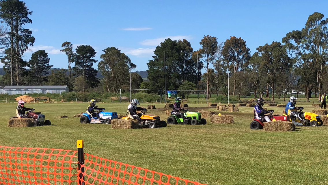 Another great Lawn Mower Race Day held at the Welshpool Recreation Reserve